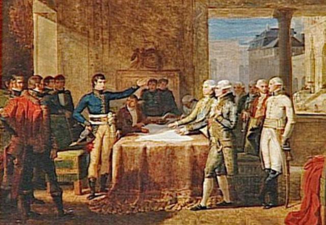 The Treaty of Leoben
