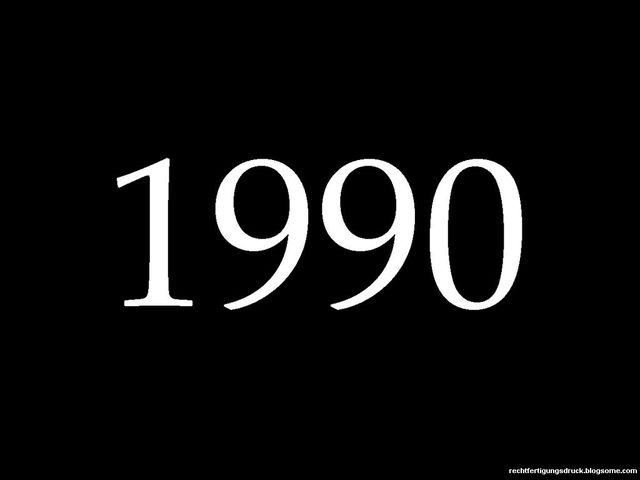 Decada de los noventa