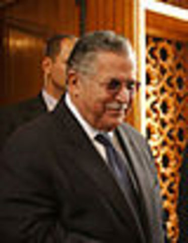 Jalal Talabani Elected President