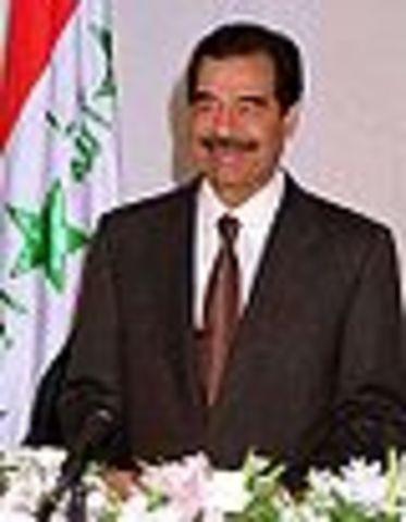 Sadaam Hussein: Became President