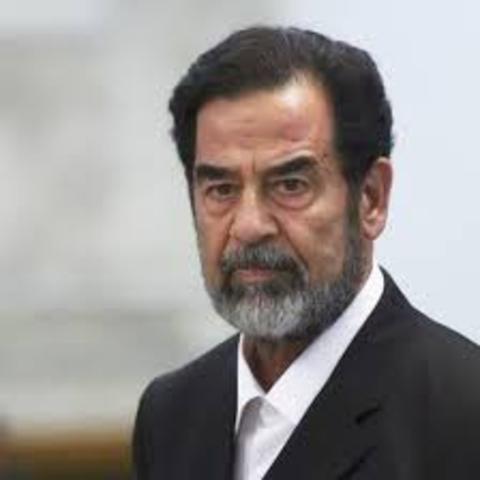 U.S. Invaded Iraq for Sadaam Hussein