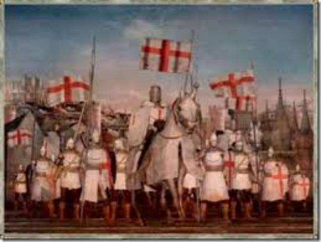 Concentración del ejército cruzado