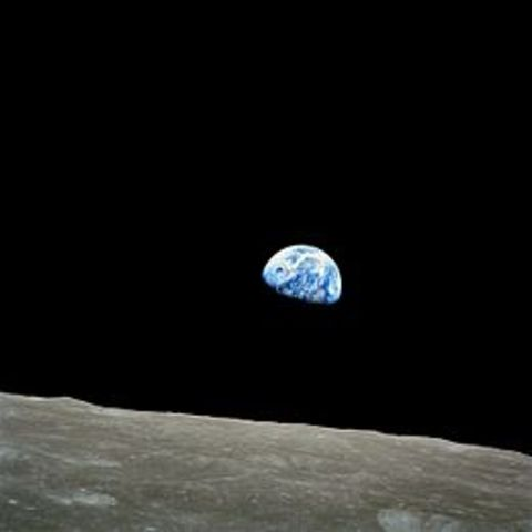 First humans orbit the Moon