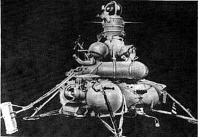Last Soviet Moon mission