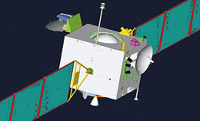China launces first moon probe