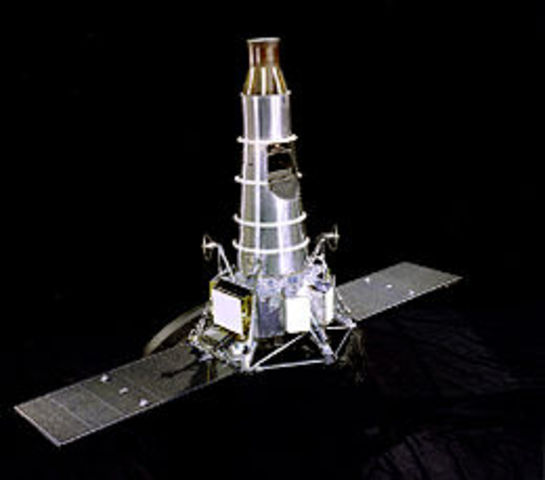 First successful U.S. moon probe launched