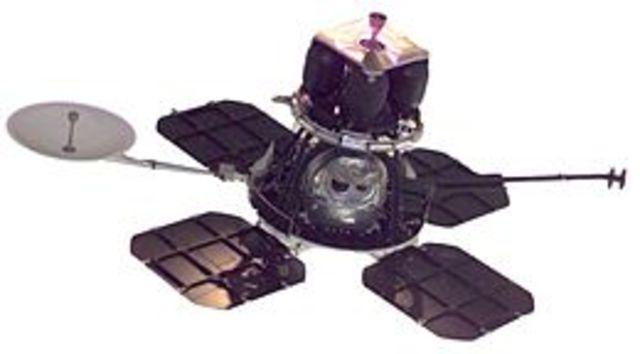 First U.S. lunar orbiter