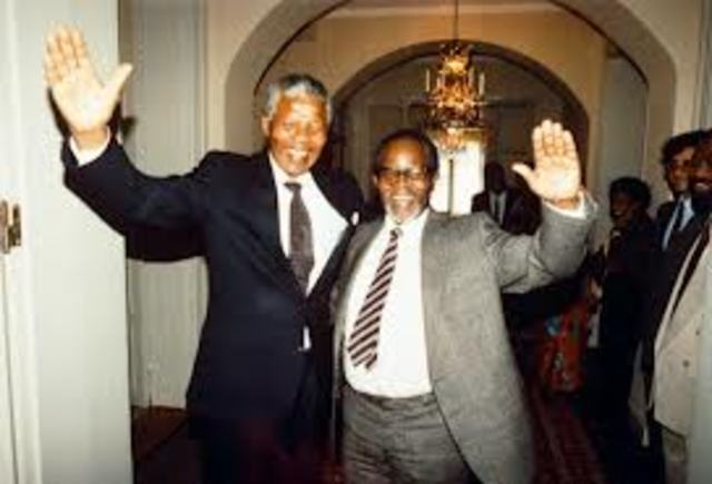 Nelson Mandela and Tambo opens the first Black legal firm in South Africa