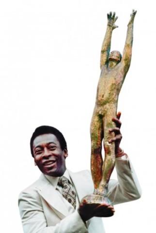 Pelé ganha título de melhor jogador