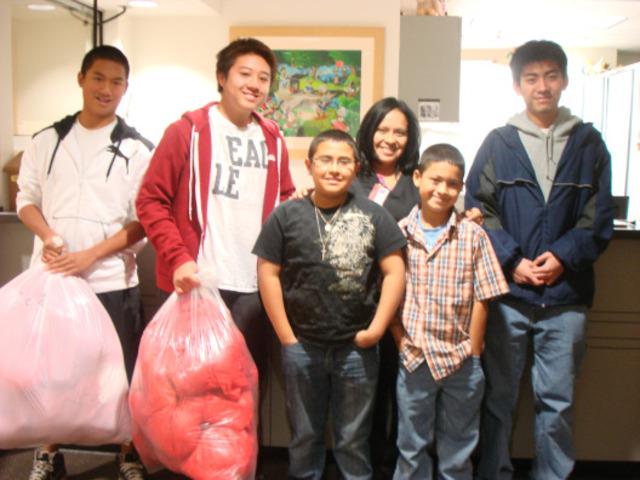 USC Dental Clinic Christmas Donation