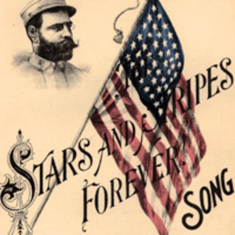 """John Phillip Sousa Composes """"Stars and Stripes Forever"""""""