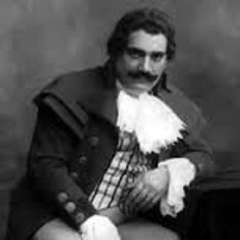 Victor Company releases Enrico Caruso record