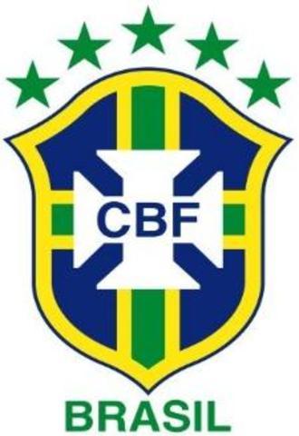 A seleção brasileira pentacampeã