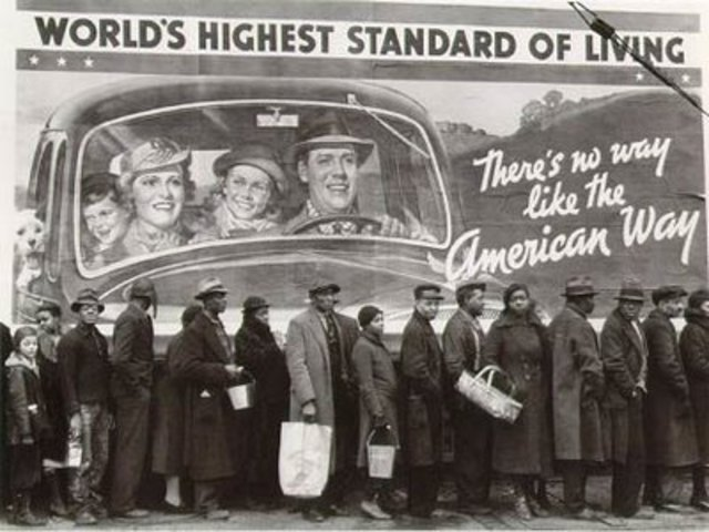 The Great Depression hits