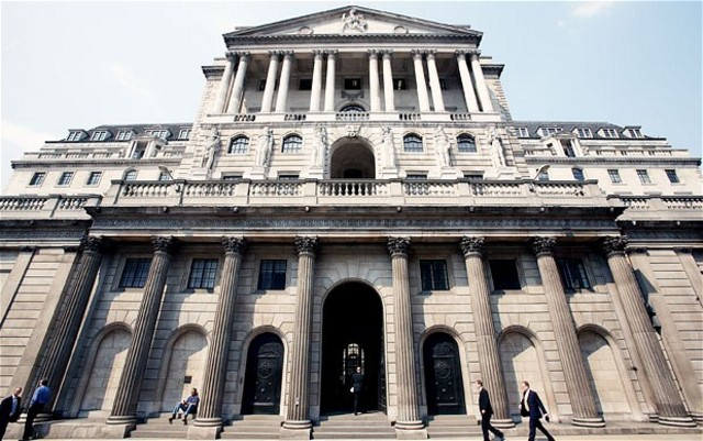 Bank of England Established