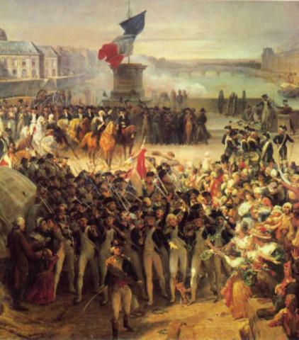 Rev. francesa y pensamientos independentistas
