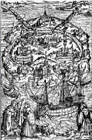Thomas More Published Utopia