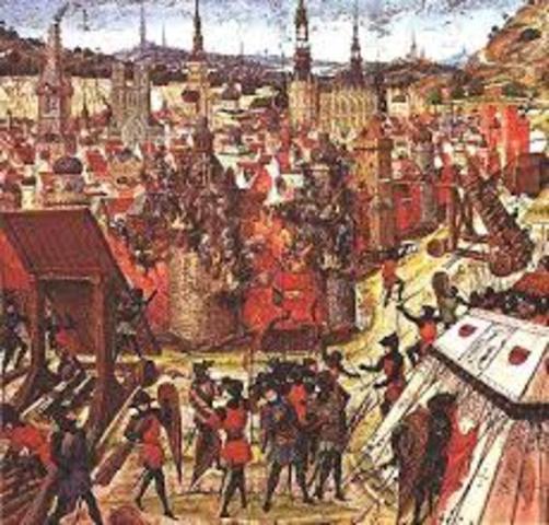 Federico II de Alemania se embarca