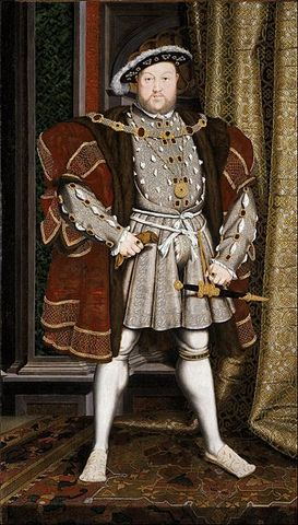Henry VIII breaks from Rome