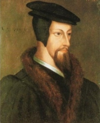Calvin publishes Institutes of the Christian Religion