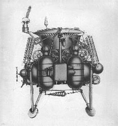 Luna 21 arrives at the Moon with Lunokhod 2 rover