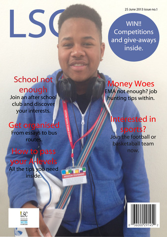 Preliminary Task: LSC magazine