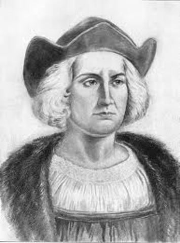 Columbus first landing