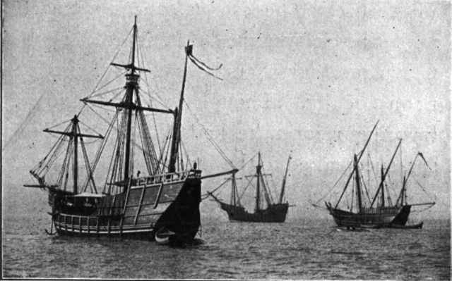 columbus sails to america in august 1492