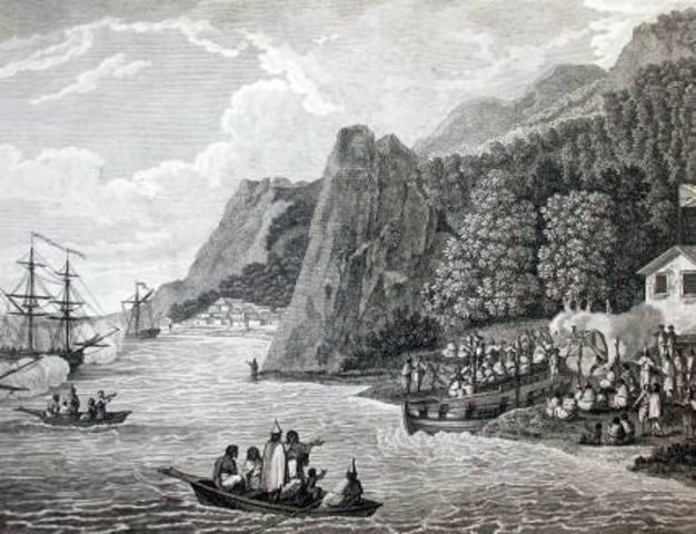 Comercio en rios y mares