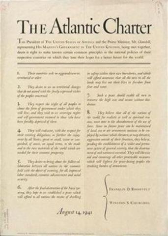 Carta del Atlantico