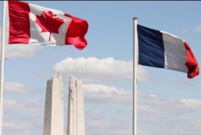 Francia se establece en Canada