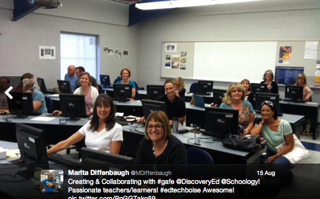 Critical Reading and Writing Teacher Training