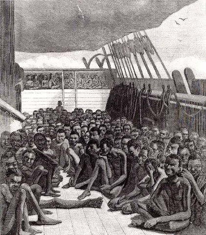 Spainish take the first African slaves to Hispaniola