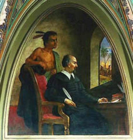 Bartolome de las Casas argues against enslavement of Native Americans