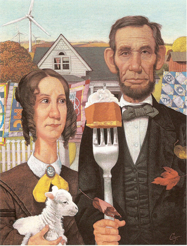 President Lincoln declares Thanksgiving a national holiday