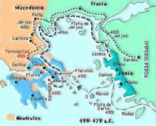 Comienza la colonización griega del Mediterráneo y del Mar Negro