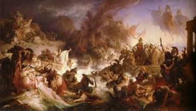 Los dorios conquistan Grecia de norte a sur