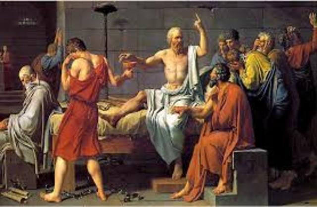 Ejecución de Sócrates.