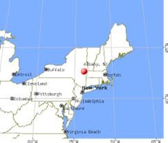 Born in Albany, NY