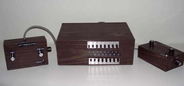 First Console, the Brown Box