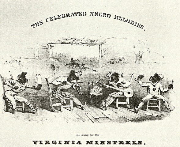 Virginia Minstrels' first appearence
