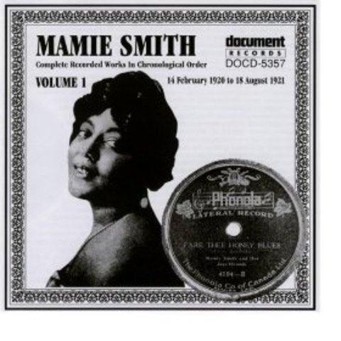 """Mamie Smith's """"Crazy Blues"""" sparks enthusiasm for the blues"""