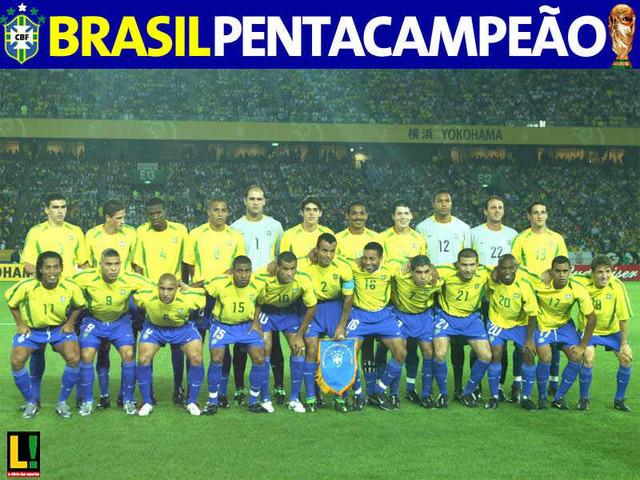 Vitória do Brasil na Copa do Mundo