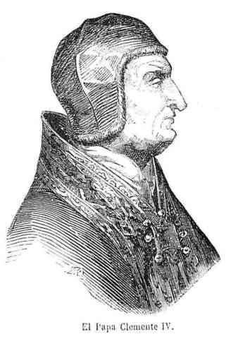 Muere el papa Clemente IV