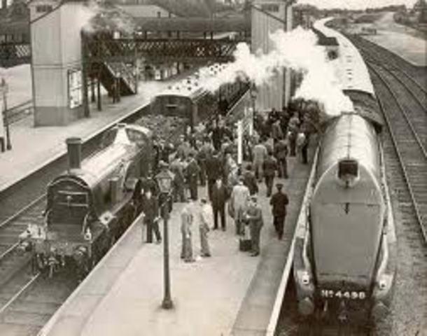 Primer ferrocarril construido para pasajeros.