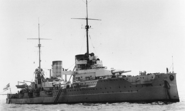Primer crucero oceánico.