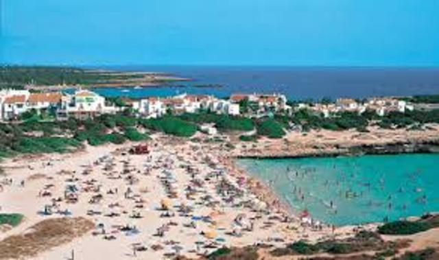 Turismo de sol y playa.
