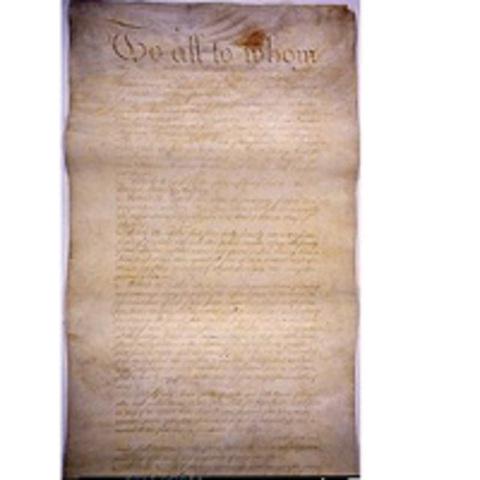 U.S. Articles of Confederation