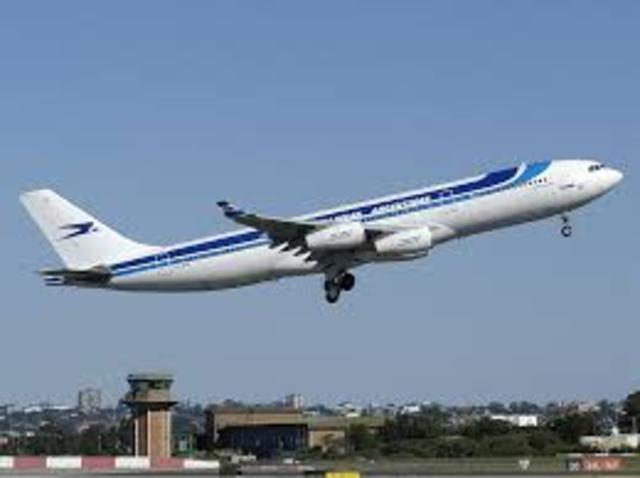 Primera aerolínea.