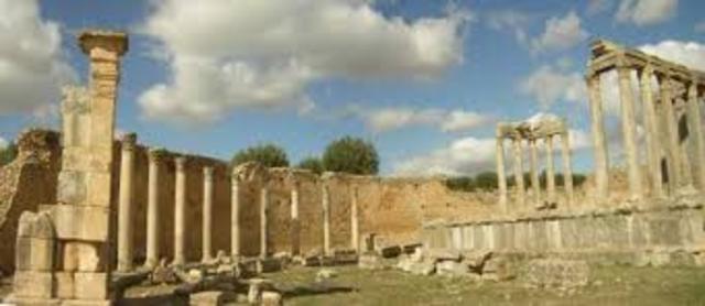 Desembarcación de los cruzados en Túnez